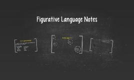 Poetry: Figurative Language Notes