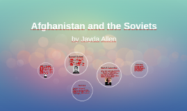 Afghanistan and the Soviets