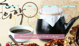Copy of Korean Food and Drink Culture