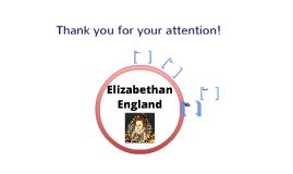 Copy of Elizabethan England