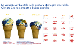 La variabile ambientale nella gestione strategica d'impresa:
