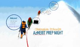 AzMERIT Prep Night 5th Grade