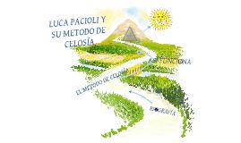 Copy of EL MÉTODO DE CELOSÍA
