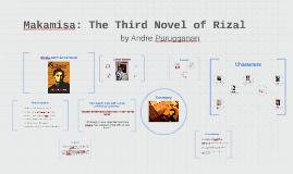 Copy of Copy of Makamisa: The Third Novel of Rizal
