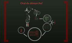 Oral de demarche