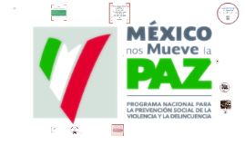 PROGRAMA FEDERAL: PROGRAMA NACIONAL PARA LA PREVENCIÓN SOCIAL