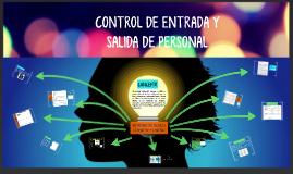 REGISTRO Y CONTROL DE PERSONAL