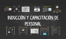 INDUCCIÓN Y CAPACITACIÓN DE PERSONAL