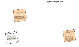 Alpha Biography