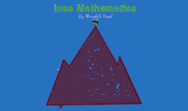 Copy of Inca Math
