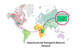 Importancia del transporte aereo en Panamá