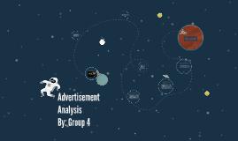 Copy of Advertisement Analysis