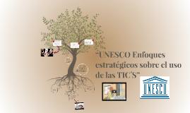"""""""Unesco Enfoques estratégicos sobre el uso de las TIC"""""""