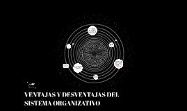 VENTAJAS DEL SISTEMA ORGANIZATIVO