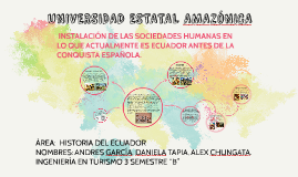 UNIVERSIDAD ESTATAL AMAZONICA