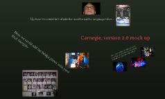 Carnegie, version 2.0 mock up