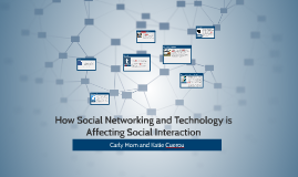 How Social Networking and Technology is Affecting Social Int