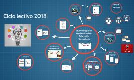Nuevo Regimen Academico de la Educación Secundaria 2018