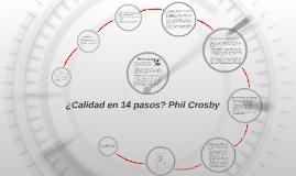 Copy of ¿Calidad en 14 pasos? Phil Crosby