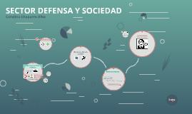 SECTOR DEFENSA Y SOCIEDAD