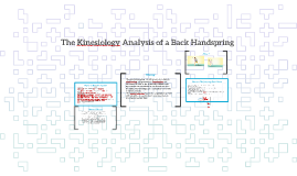 Copy of The Kinesiology Analysis of a Back Handspring