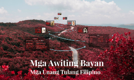 Copy of Mga Awiting Bayan