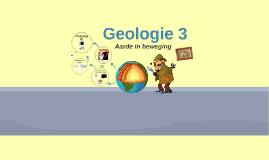 Geologie 3: Aarde in Beweging