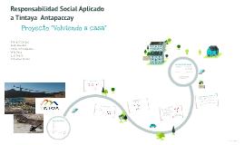 Responsabilidad Social Aplicado a Tintaya  Antapaccay