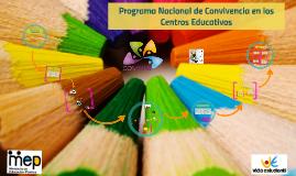 Programa Nacional de Convivencia 2016