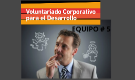 Copy of VOLUNTARIADO CORPORATIVO