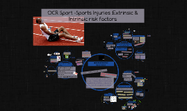 Sports Injuries- extrinsic / intrinsic risk factors