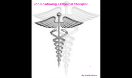 Physical Therapy Job Shadow Day