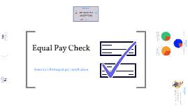 Equal Pay Check