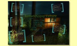 Gypsy/Romani Culture