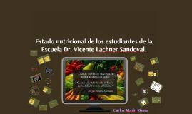 Estado nutricional de los estudiantes de la escuela XXXXX