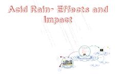 Acid Rain- Effects and Impact