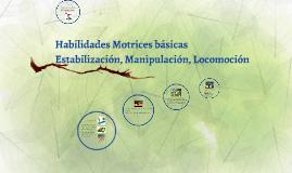Copy of Habilidades Motrices básicas