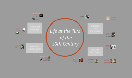 Chapter 8 - Life at the Turn of the Century