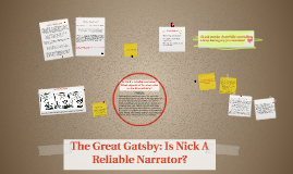 Great gatsby essays nick reliable narrator