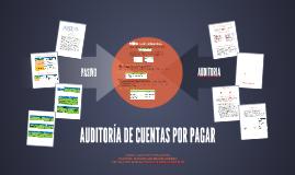 Copy of AUDITORIA DE CUENTAS POR PAGAR