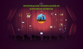 Manipulación Sustancias Quimicas