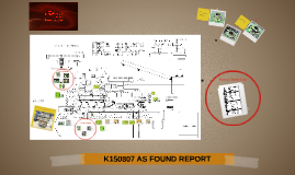 K150807 AS FOUND REPORT