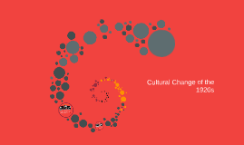 Cultural Change the
