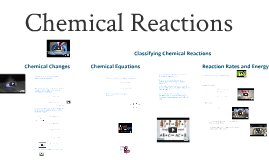 Science 8- Chemical Reactions