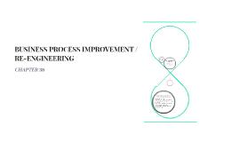 BUSINESS PROCESS IMPROVEMENT / RE-ENGINEERING
