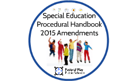 2015 Procedural Handbook Amendments