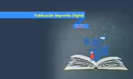 Publicación Imprenta Digital