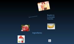 Raspberry Lemonade Smoothies