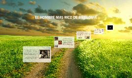 EL HOMBRE MAS RICO DE BABILONIA