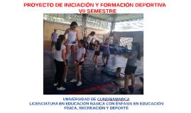 Copy of PROYECTO DE INICIACIÓN Y FORMACIÓN DEPORTIVA